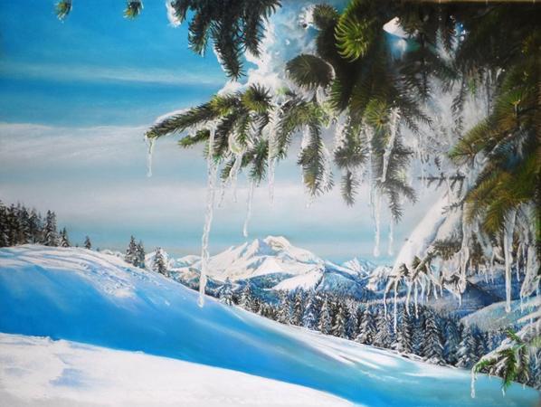 Que la Montagne est belle...