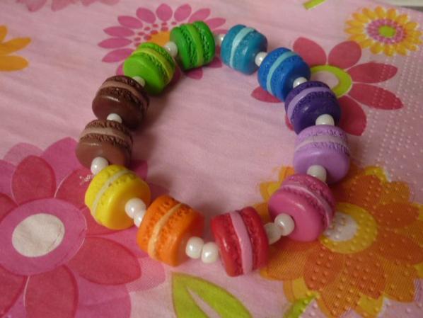Bracelet Macarons