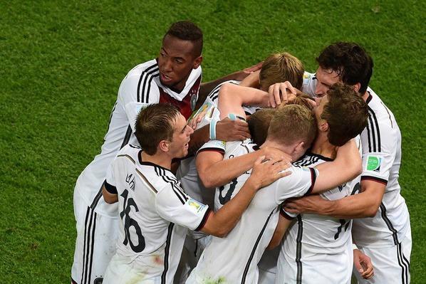 L'Allemagne championne du monde !