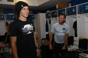 David Luiz est � Paris !