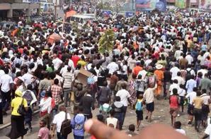 Bravo � la mobilisation de nos fr�res � Kinshasa et � Washington contre la modification de la constitution et pour demander le d�part de Kabila