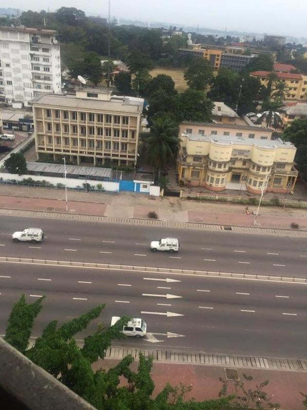 Journ�e ville Morte en images: Kabila-Kodjo et Kamerhe degage!