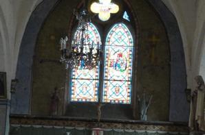 Eglise Templiere  de Chalou , Sept 2014