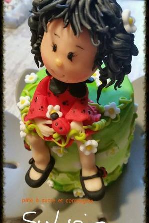 ma creation d une figurine en pate a sucre quot poup 233 e coccinelle quot pate 224 sucre cie
