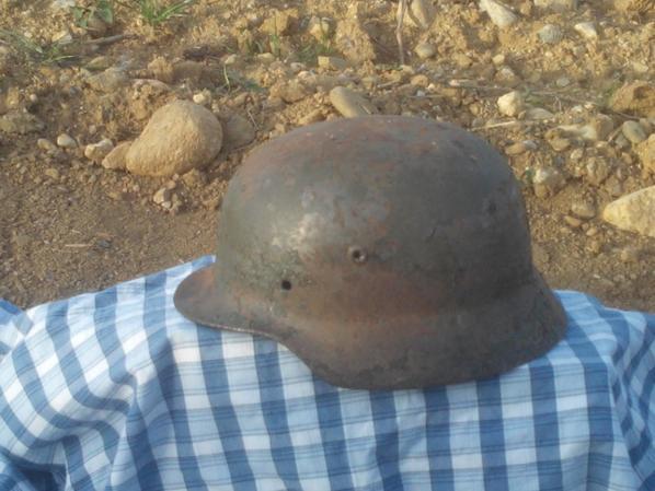 casque allemand de 1940