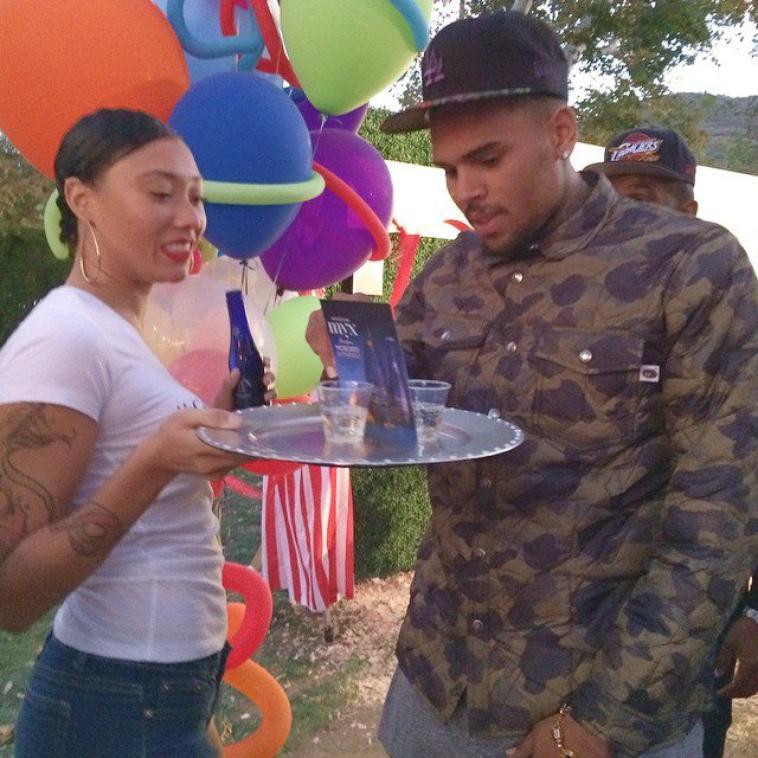Photos : A la soir�e d'anniversaire de Trey Songz