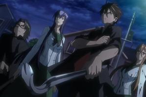 highschool of the dead (H.O.T.D) (part2)