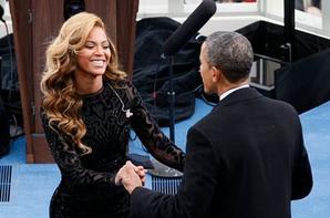 Beyonc� et Barack Obama