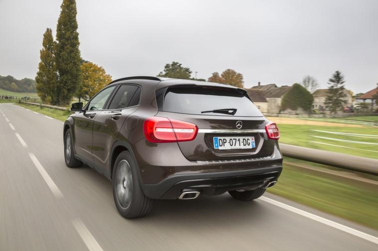 Mercedes GLA Activity Edition : s�rie limit�e � 1200 exemplaires .