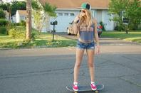 Shooting Swag in The street with a Skate ▲.