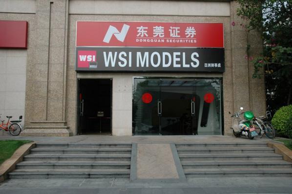 Boutique WSI en chine