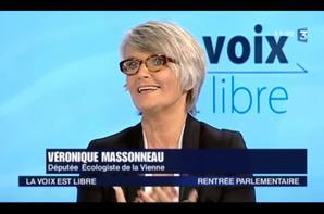 Reclass�s PTT : V�ronique Massoneau D�put�e EELV 4�me circonscription de la Vienne Vincent Nouvel SUD PTT 28 juin 2016 Assembl�e Nationale