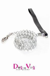 Nouveaut�s 2015 : Laisse en perles et cable acier inox