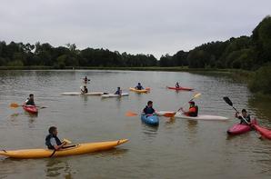 EIE Kayak avec les 2ndes NJPF Groupe 1 !