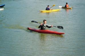 EIE Kayak avec les 2ndes PRO NJPF Groupe 2 aux �tangs du lyc�e !