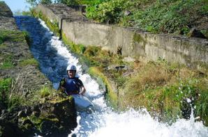 EIE : Les 2ndes PRO NJPF en kayak sur l'Adour !