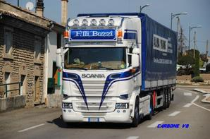 Transport Buzzi. Pont d'Is�re. Septembre 2016.
