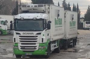 Transport Nicolas Veray. Chateaurenard. Décembre 2016.