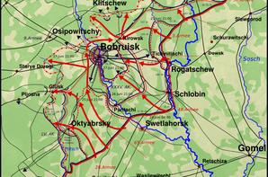 100 - Le crépuscule des Aigles 8 - La Blitzkrieg à la Russe - Opération Bagration 3 - 22 juin 1944 - 4 juillet 1944 Phase I L'Apocalypse version Staline.