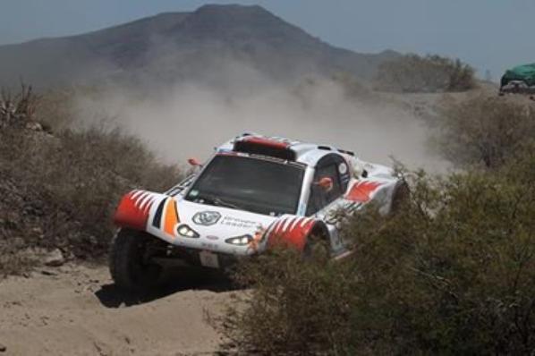 Dakar �quipage Commagnac/Lavergne