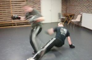 Ganshoren, vendredi 29 ao�t 2014, cours d'application combat