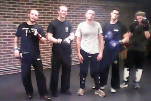 Ganshoren, vendredi 17 octobre 2014, cours d'application combat