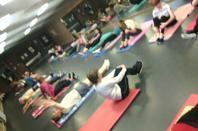 """Mardi 10 janvier 2017, de 10h00 à 11h00 - cours de gym seniors au hall des sports """"Richard Beauthier"""" de Ganshoren -"""