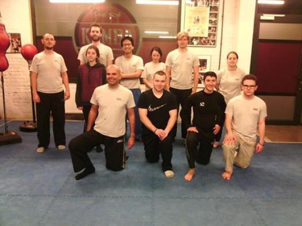 Mardi 10 janvier 2017 de 18h30 à 20h00 - cours de krav-maga à l'American Gym