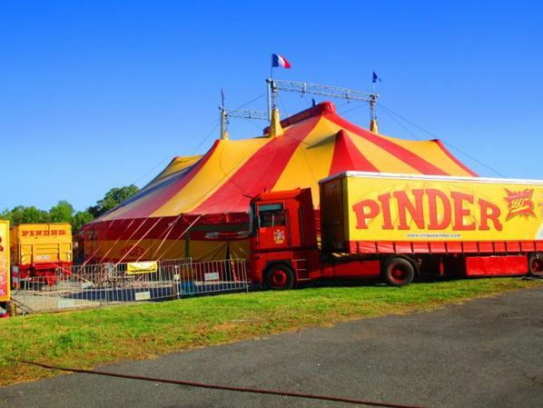 Cirque Pinder , Brive la gaillarde le 24.09.2016 !!!