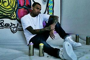 Chris brown en photoshoot