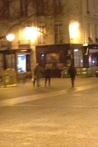 "C�dric ""in the street"""
