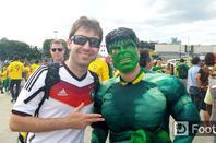 Les photos de l'avant match Br�sil Allemagne