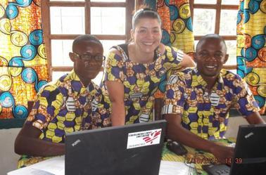 Souvenirs & bons moments avec les coll�gues, chez MSF