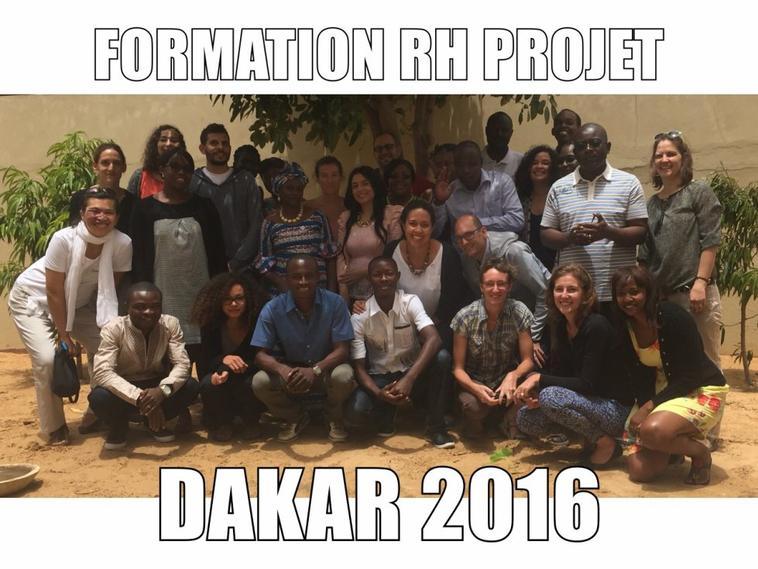 Formation RH Projet � Dakar, S�n�gal Mai 2016