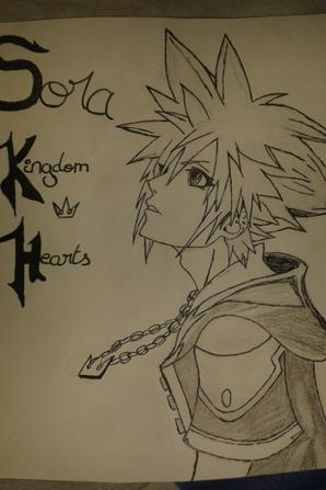 Sora de Kingdom Hearts ^3^