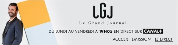 """Bernard Lavilliers invité """"Le grand Journal"""" canal+ 29 septembre 2016"""