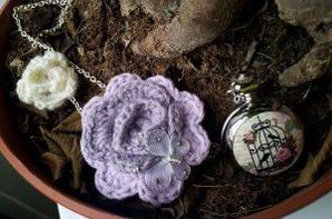Montre Sautoir crochet