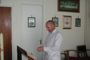 ordination de fr�re Loic ce week-end � Reims