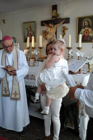 bapt�mes dans notre chapelle primatiale de Reims