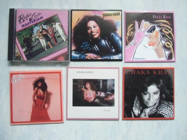 Chaka Khan CDs