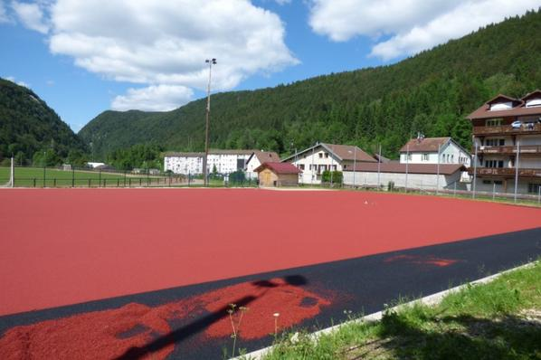 Un rectangle rouge � La Doye