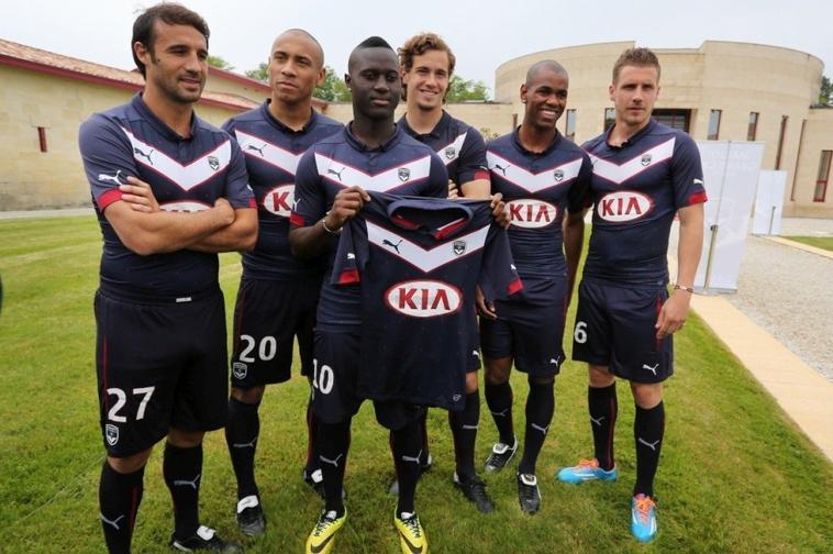 nouveau maillot domicile des Girondins de Bordeaux saison 2014/2015