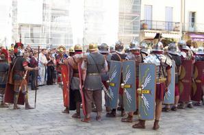Spectacle sur le terme des romains � Orange