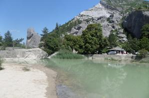moi au lac de Luc - Source de la Dr�me