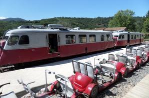 Visite des George du Doux en V�lo Rail ao�t 2016