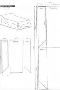 Tutorial e medidas de colcha de cama de crian�a (solteiro)