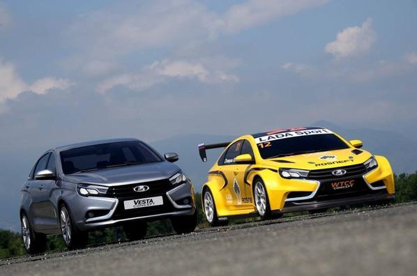 LADA Sport Rosneft a officiellement pr�sent� sa LADA VESTA WTCC Concept !!!