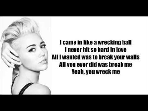 you wreck me