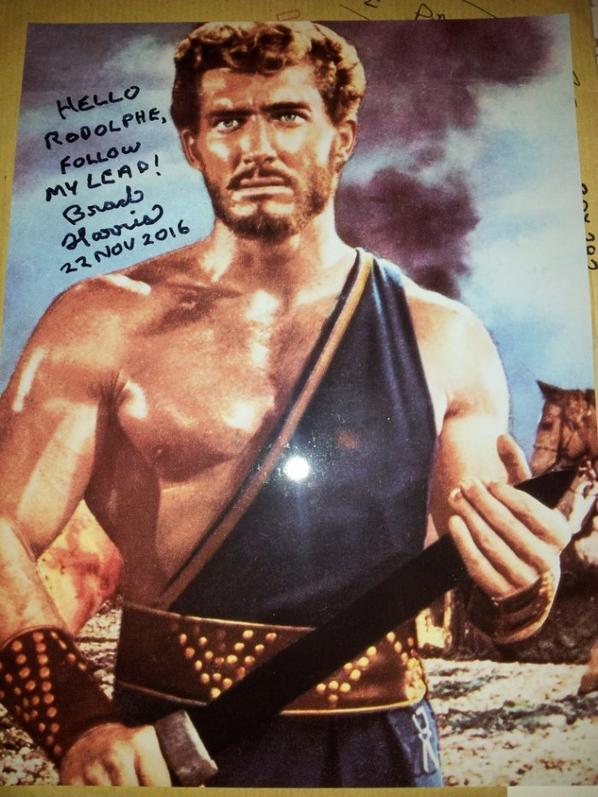Brad Harris (Hercule se déchaîne, Samson contre Hercule, Les Pirates du Mississippi)
