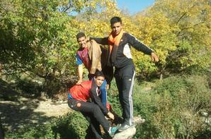 taghart avec mes amis